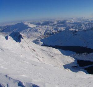 Snowdonia winter