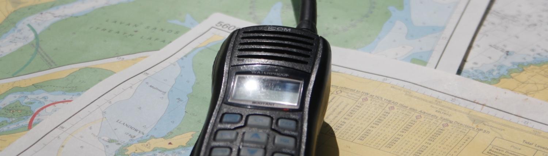 VHF radio SRC
